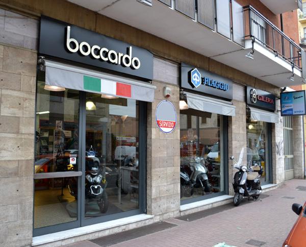 La concessionaria Piaggio Boccardo