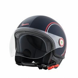 Casco Vespa demi jet Mods...