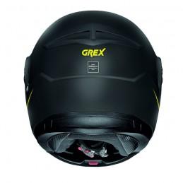 Casco Integrale apribile GREX serie G9.1 EVOLVE. Vista posteriore casco chiuso