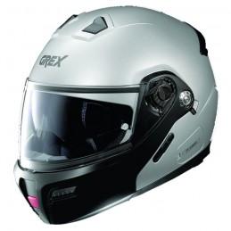 Casco Integrale apribile GREX serie G9.1 EVOLVE. Colore grigio opaco con mentoniera nera.