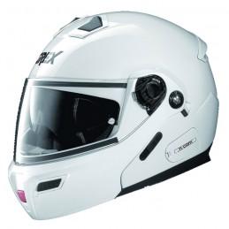 Casco Integrale apribile GREX serie G9.1 EVOLVE. Colore bianco.