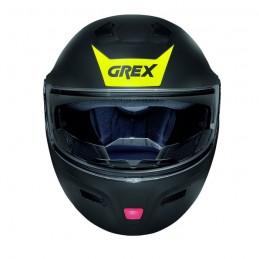 Casco Integrale apribile GREX serie G9.1 EVOLVE. Vista frontale casco chiuso