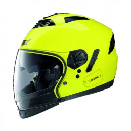 Casco GREX CROSSOVER G4 PRO KINETIC N COM giallo fluo.