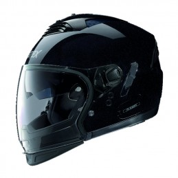 Casco GREX CROSSOVER G4 PRO KINETIC N COM nero lucido.