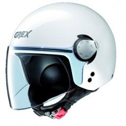 Casco mini jet GREX. Calotta in policarbonato