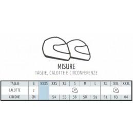 Casco Nolan N21 Tabella misure/taglie