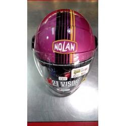Casco Nolan N21 Visor Viola. Casco aperto omologato ideale per scooter e mototurismo