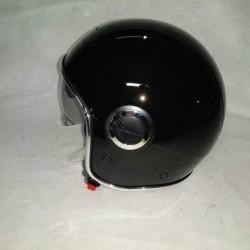 Casco Vespa VJ1 colore Black. Lo stile Vespa in un casco jet