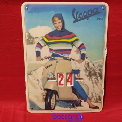 Calendario Perpetuo con immagine Vespa 1955