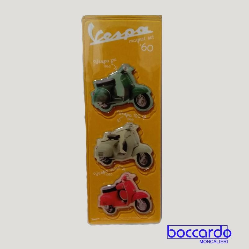 Magneti Sagomati Originali Vespa - Sagome: Vespa 180SS, Vespa 125 SUPER, Vespa 90SS