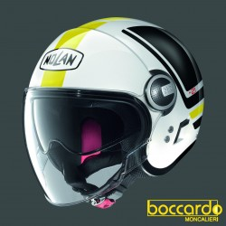 Casco Nolan N21 Visor Flybridge 65 Metal White