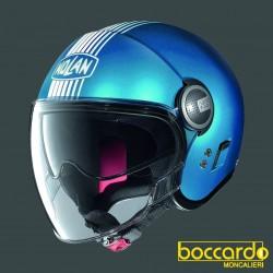 Casco Nolan N21 Visor Joie De Vivre 68 Flat Sapphiere Blue